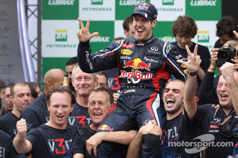 Sebastian Vettel, Red Bull Racing en Christian Horner, Red Bull Racing Team Principal