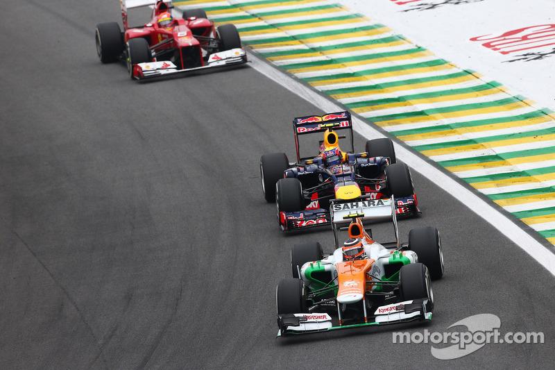 Нико Хюлькенберг. ГП Бразилии, Воскресная гонка.
