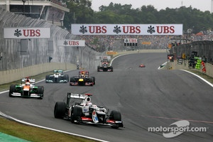 UBS strong presence in Formula One.