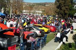 John Force Holiday car show