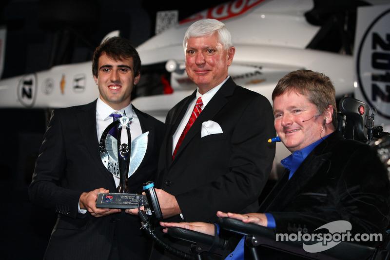 Тристан Вотье. Празднования победы в чемпионате IndyCar, особое событие.