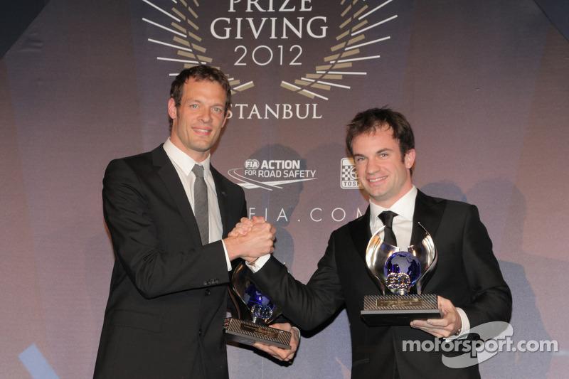 Александр Вурц и Николя Ляпьер. Церемония награждения FIA, Стамбул, Турция, Особое мероприятие.