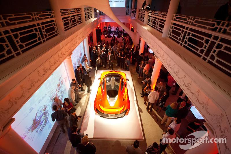 Презентация McLaren P1 для Северной Америки, Майами, презентация.