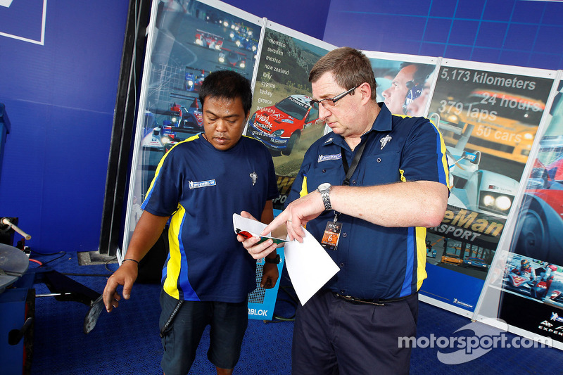 The Michelin support team