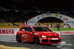 Sébastien Ogier racing a Volkswagen Cup Sirocco