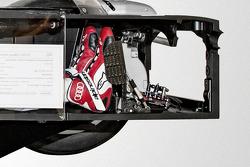 Audi R18 e-tron quattro cutaway
