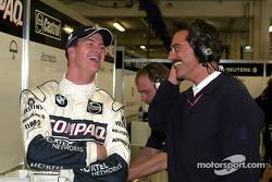 Ralf Schumacher and Dr. Mario Theissen