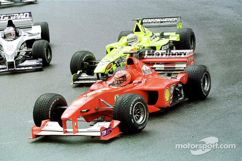 Michael Schumacher en el GP de Bélgica