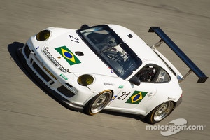#21 Dener Motorsport Porsche GT3 at Daytona for January testing