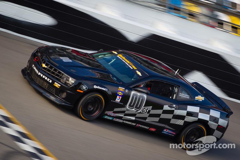 #00 CKS Autosport Camaro GS.R: Ashley McCalmont, Jim MIchaelian