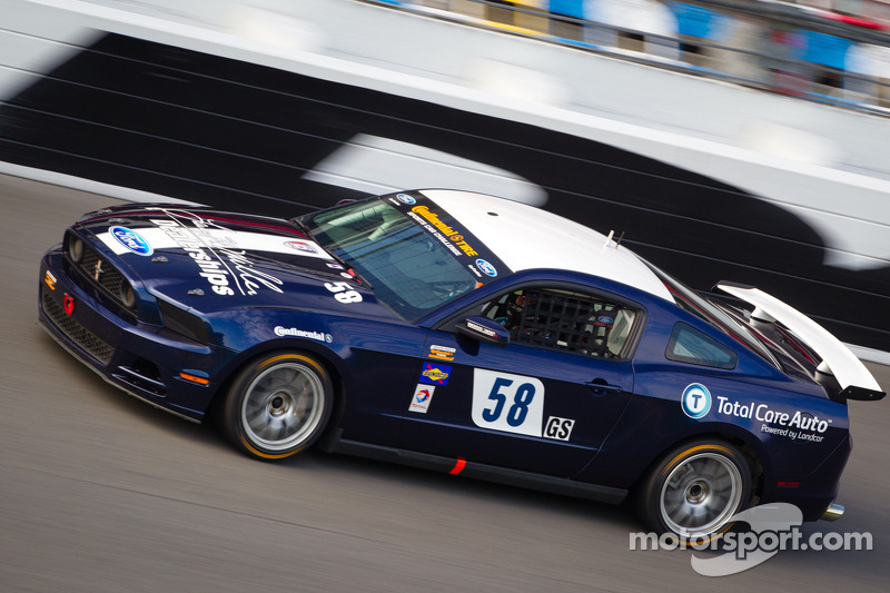 #58 Dempsey Racing Mustang Boss 302R: Ian James, Roger Miller