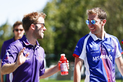 Sam Bird, DS Virgin Racing, and Robin Frijns, Amlin Andretti Formula E Team