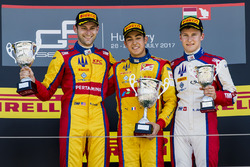 Podium: winner Giuliano Alesi, Trident, second place Ryan Tveter, Trident, third place Kevin Joerg, Trident