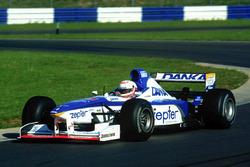 Martin Brundle test de Arrows F1-auto