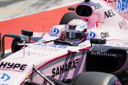 Lucas Auer, Sahara Force India F1 VJM10