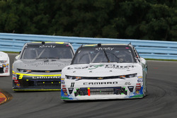 Blake Koch, Kaulig Racing Chevrolet and William Byron, JR Motorsports Chevrolet