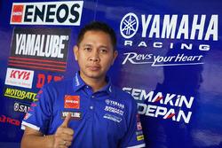 Wahyu Rusmayadi, Team Manager Yamaha Racing Indonesia