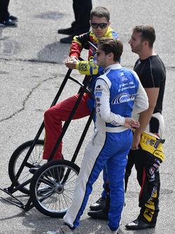 David Ragan, Front Row Motorsports Ford, Landon Cassill, Front Row Motorsports Ford, Matt DiBenedetto, Go Fas Racing Ford