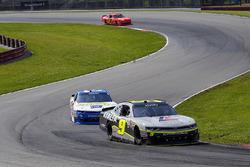 William Byron, JR Motorsports Chevrolet and Scott Lagasse Jr., Chevrolet
