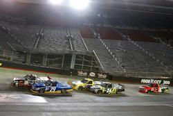 Ben Rhodes, ThorSport Racing Toyota, Chase Briscoe, Brad Keselowski Racing Ford