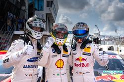Sıralama turları ilk 3: Maxime Martin, BMW Team RBM, BMW M4 DTM, Pole Augusto Farfus, BMW Team RMG, BMW M4 DTM, Marco Wittmann, BMW Team RMG, BMW M4 DTM