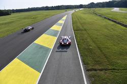 #73 Park Place Motorsports Porsche GT3 R: Patrick Lindsey, Jörg Bergmeister,  #66 Ford Performance Chip Ganassi Racing Ford GT: Joey Hand, Dirk Müller