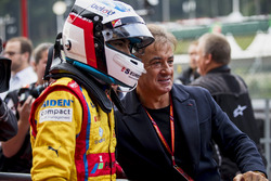 Winner Giuliano Alesi, Trident with father Jean Alesi