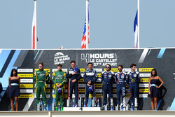 LMP3 Podyum: Yarış galibi John Falb, Sean Rayhall, United Autosports, 2.  Jakub Smiechowski, Martin Hippe, Inter Europol Competition, 3. Alexandre Cougnaud, Antoine Jung, Romano Ricci, M.Racing - YMR