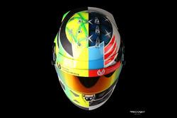 Mick Schumacher Spa kask tasarımı