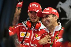 Antonio Giovinazzi, Ferrari et Marc Gene, Ferrari