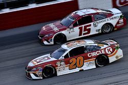 Мэтт Кенсет, Joe Gibbs Racing Toyota и Рид Соренсон, Premium Motorsports Toyota