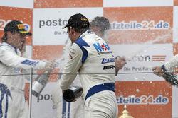Podium: #21 Mercedes-AMG Team Zakspeed, Mercedes-AMG GT3: Luca Stolz, Luca Ludwig