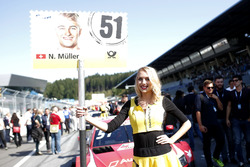 Chica de la parrilla para  Nico Müller, Audi Sport Team Abt Sportsline, Audi RS 5 DTM