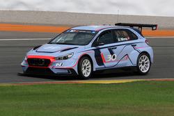 Hyundai i30 N TCR Valencia testing