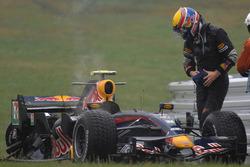 Mark Webber, crash