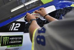 Jimmie Johnson, Hendrick Motorsports Chevrolet robert yates decal