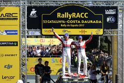 Переможці Кріс Мік та Пол Нейгл, Citroën C3 WRC, Citroën World Rally Team