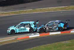 Rob Huff, Leopard Racing Team WRT, Volkswagen Golf GTi TCR, Frédéric Vervisch, Comtoyou Racing, Audi RS3 LMS
