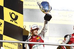 Podium: second place Mike Rockenfeller, Audi Sport Team Phoenix, Audi RS 5 DTM