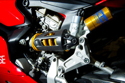 Ohlins Suspension and the clever Firm and Plush setting flip chip on the Ducati 1199 Panigalle R