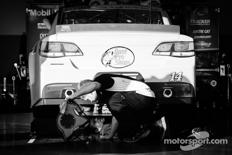 De auto van Tony Stewart, Stewart Haas Racing Chevrolet