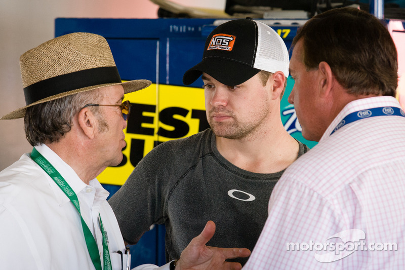 Jack Roush and Ricky Stenhouse Jr., Roush Fenway Racing Ford