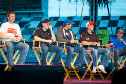 Fan forum: Dale Earnhardt Jr., Hendrick Motorsports Chevrolet, Regan Smith, Phoenix Racing Chevrolet, Martin Truex Jr., Michael Waltrip Racing Toyota, Kevin Harvick, Richard Childress Racing Chevrolet, Scott Speed, Leavine Family Racing Ford