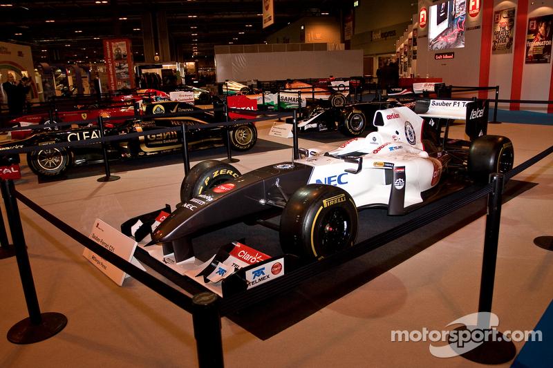 2012 F1 car Display