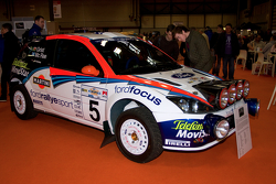 Colin McRae rally car