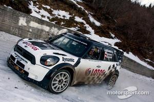 Michal Kosciuszko and Maciek Szczepaniak, Mini John Cooper Works WRC