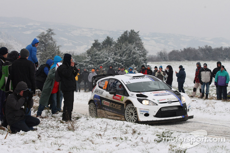 Julien Maurin and Olivier Ural, Ford Fiesta WRC