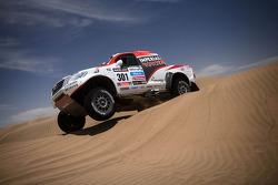 #301 Toyota: Giniel de Villiers en Dirk von Zitzewitz