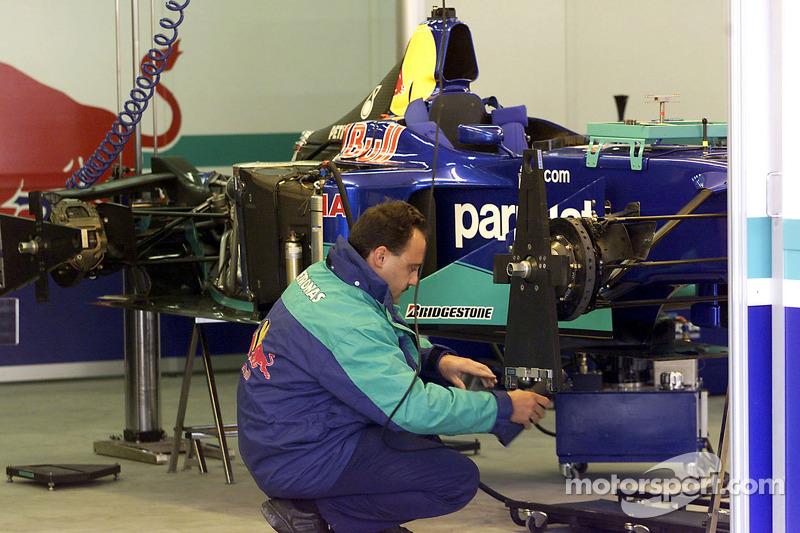 Sauber team area