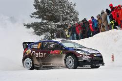 Juho Hanninen and Tomi Tuominen, Ford Fiesta WRC, Qatar M-Sport WRT
